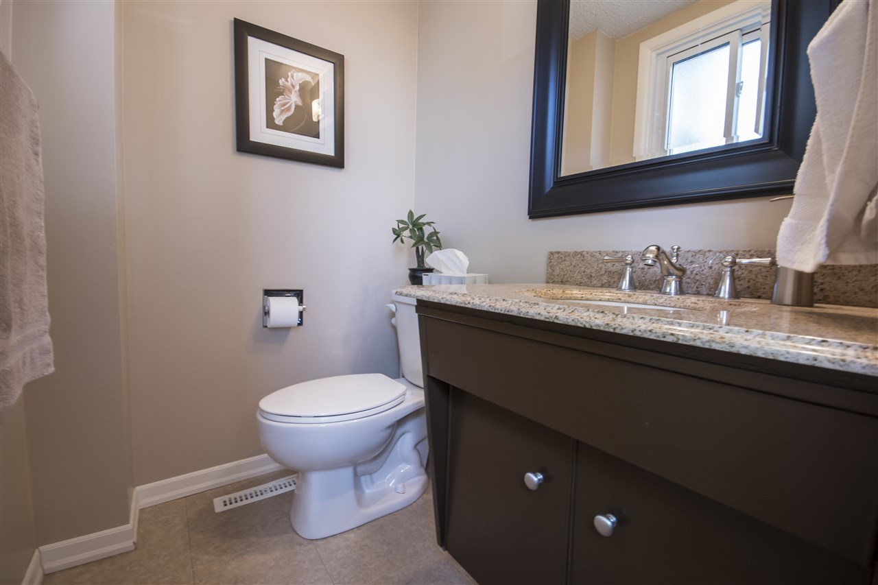Lovely 2pc main floor powder room