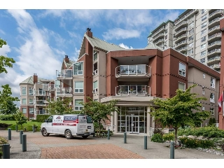 "Main Photo: 108 1230 QUAYSIDE Drive in New Westminster: Quay Condo for sale in ""TIFFANY SHORES"" : MLS(r) # R2185580"