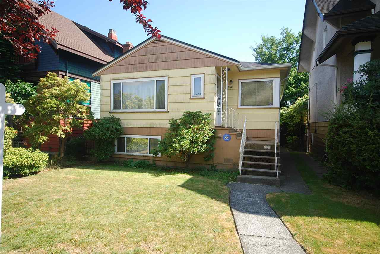 Main Photo: 740 E 50TH Avenue in Vancouver: South Vancouver House for sale (Vancouver East)  : MLS®# R2187068
