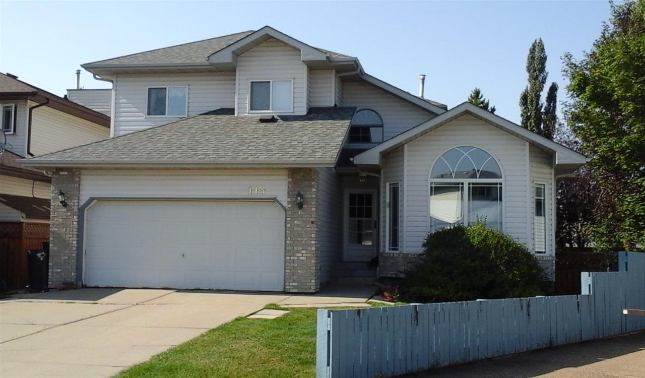 Main Photo: 113 CATALINA Drive: Sherwood Park House for sale : MLS® # E4081015