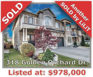 Main Photo: 318 Golden Orchard Rd in Vaughan: Patterson Freehold for sale
