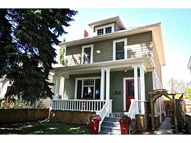 Main Photo: 9930 84 Avenue NW in Edmonton: Strathcona House for sale : MLS® # E416667