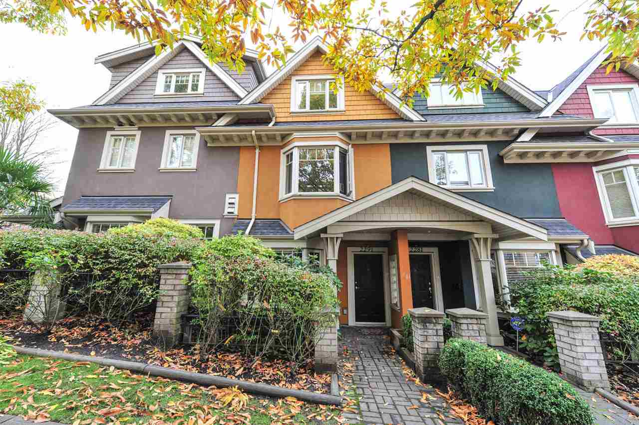 Main Photo: 2281 CAROLINA Street in Vancouver: Mount Pleasant VE Townhouse for sale (Vancouver East)  : MLS®# R2299320