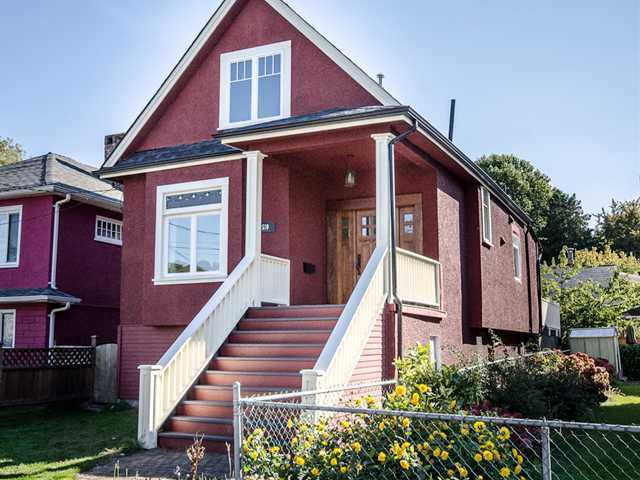 Main Photo: 510 E 20TH Avenue in Vancouver: Fraser VE House for sale (Vancouver East)  : MLS® # V985389