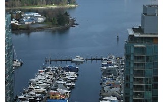Main Photo: 2201 1415 W GEORGIA in VANCOUVER: Coal Harbour Condo for sale (Vancouver West)  : MLS®# V000913