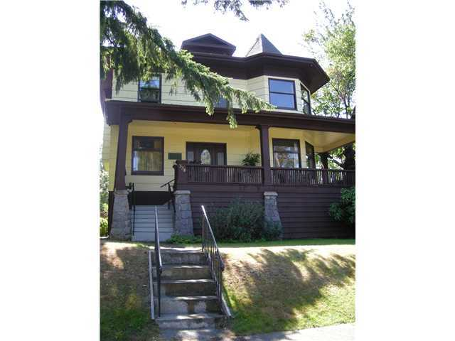 Main Photo: 334 W 14th Ave in Vancouver: Home for sale : MLS® # V887757