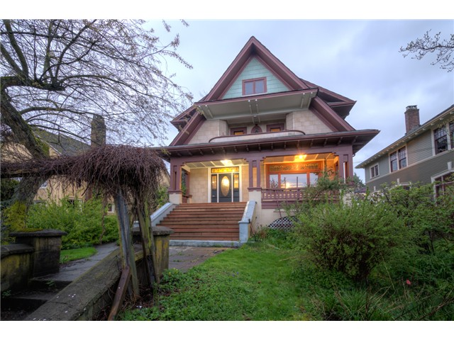 Main Photo: 109 THIRD Avenue in New Westminster: Queens Park House for sale : MLS®# V1059355