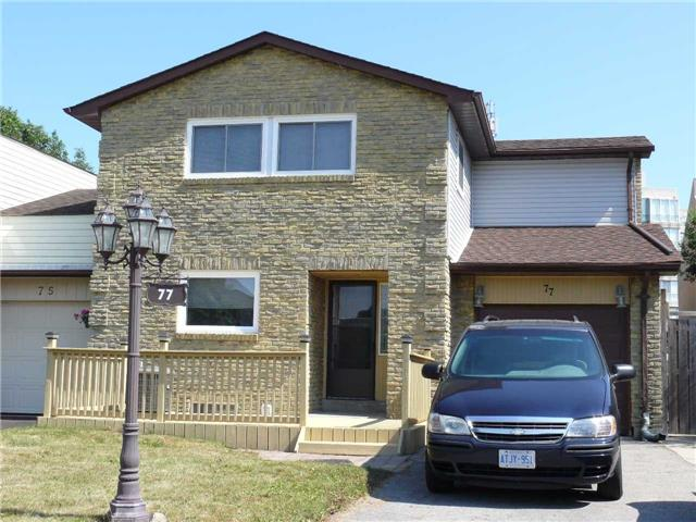 Main Photo: 77 W Clover Ridge Drive in Ajax: South West House (2-Storey) for lease : MLS® # E3304845