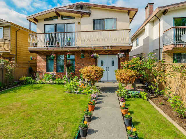 Main Photo: 1175 E 57TH Avenue in Vancouver: South Vancouver House for sale (Vancouver East)  : MLS® # V1142692