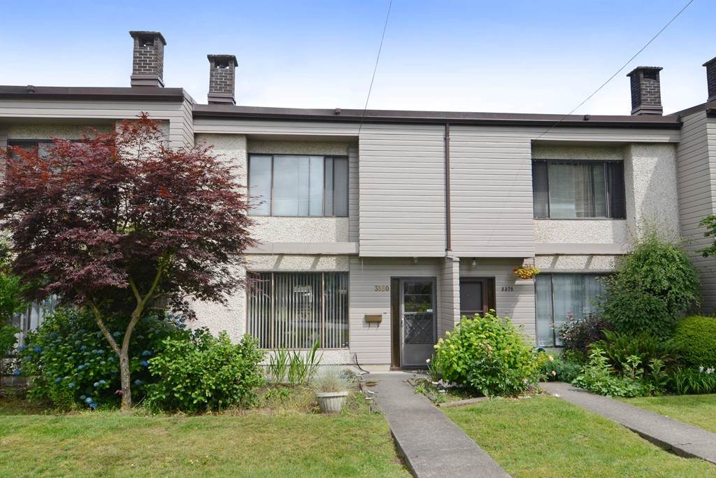 Main Photo: 3380 VINCENT Street in Port Coquitlam: Glenwood PQ Townhouse for sale : MLS® # R2075306