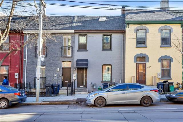 Main Photo: 459 E Queen Street in Toronto: Moss Park House (2 1/2 Storey) for sale (Toronto C08)  : MLS(r) # C3712112