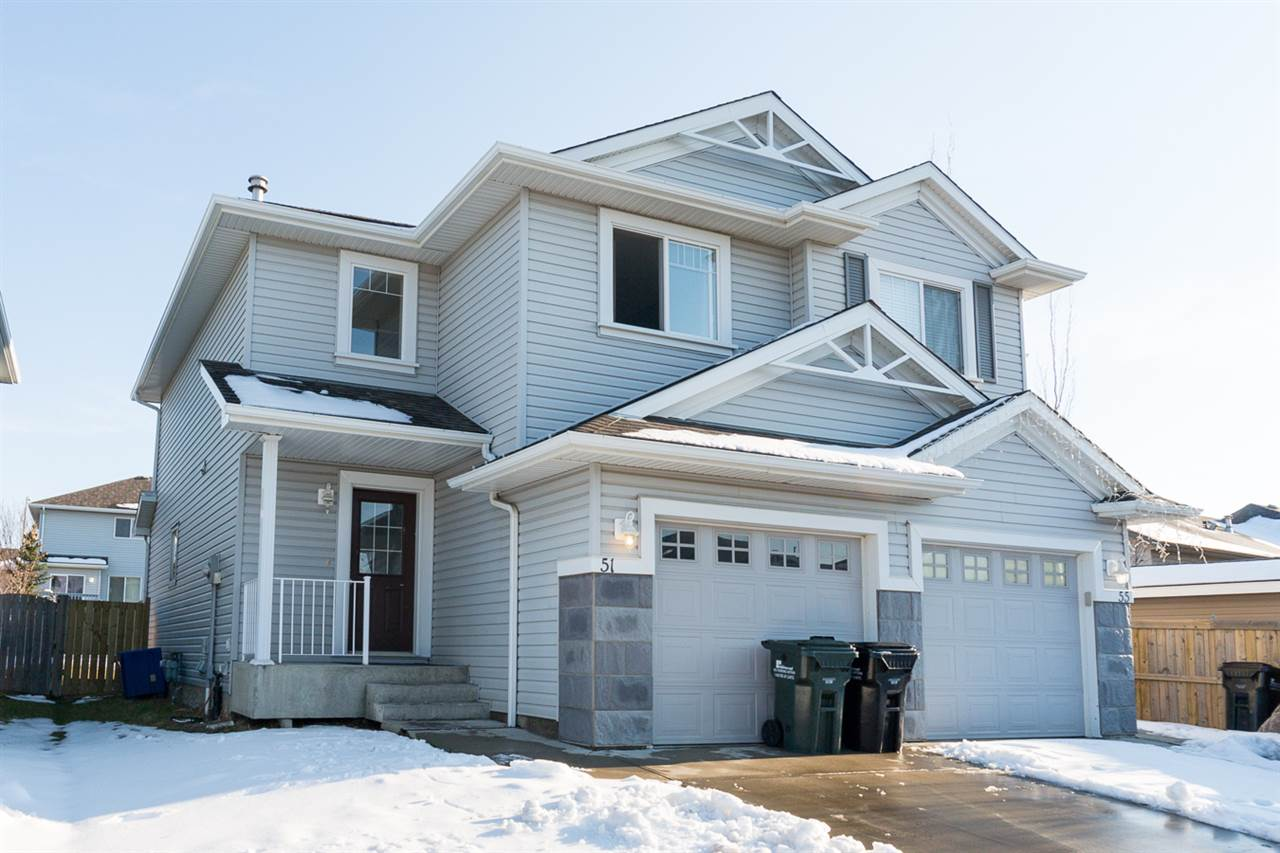 Main Photo: 51 CHESTERMERE Way: Sherwood Park House Half Duplex for sale : MLS(r) # E4060160