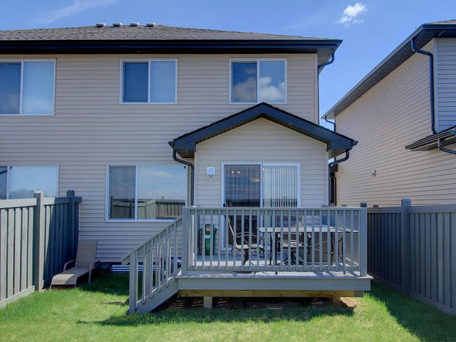 Photo 25: 1218 177A Street in Edmonton: Zone 56 House Half Duplex for sale : MLS(r) # E4065067