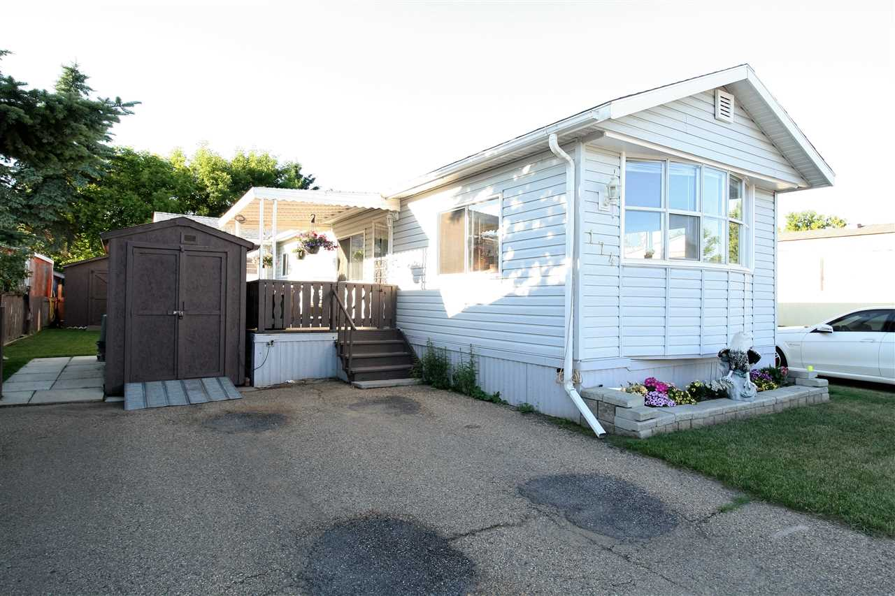 Main Photo: 174 10770 Winterburn Road NW in Edmonton: Zone 59 Mobile for sale : MLS® # E4071981
