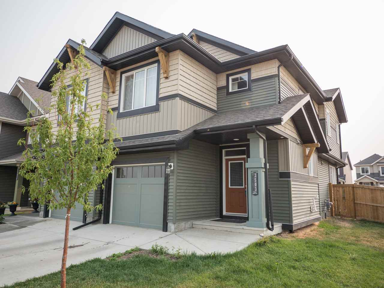 Main Photo: 3503 CHERRY Landing in Edmonton: Zone 53 House Half Duplex for sale : MLS® # E4074572