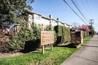 "Main Photo: 17 3476 COAST MERIDIAN Road in Port Coquitlam: Lincoln Park PQ Townhouse for sale in ""Laurier Mews"" : MLS® # R2228363"