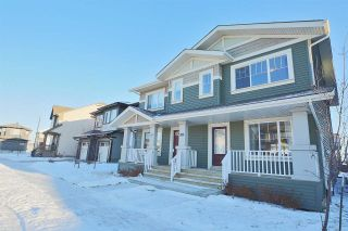Main Photo: 3811 POWELL Wynd SW in Edmonton: Zone 55 House Half Duplex for sale : MLS® # E4093148