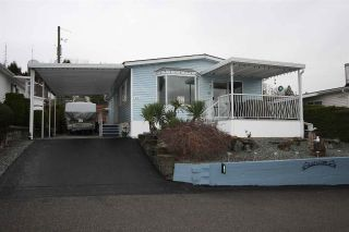 "Main Photo: 67 27111 0 Avenue in Langley: Aldergrove Langley Manufactured Home for sale in ""Pioneer Park"" : MLS® # R2247400"