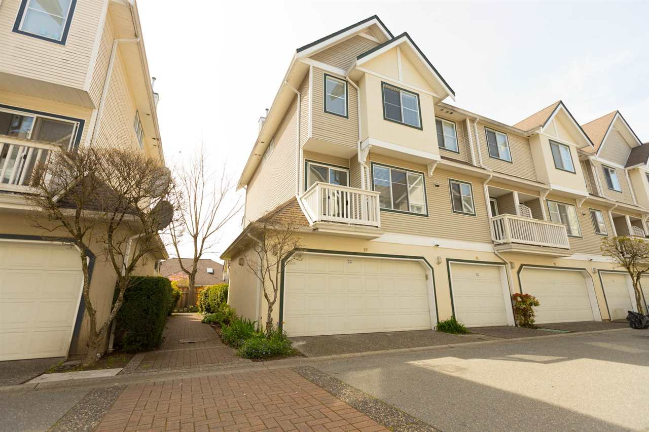 "Main Photo: 19 4933 FISHER Drive in Richmond: West Cambie Townhouse for sale in ""Fisher Gardens"" : MLS®# R2261370"