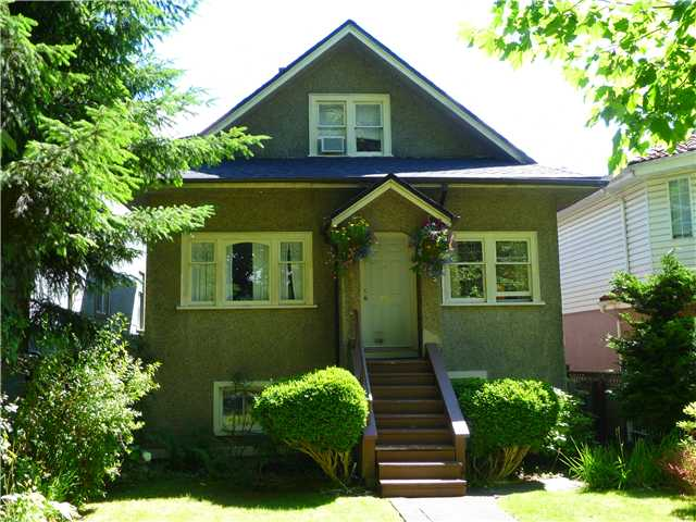 Main Photo: 152 E 20TH Avenue in Vancouver: Main House for sale (Vancouver East)  : MLS® # V900244