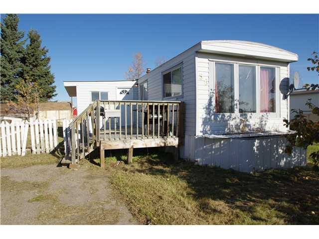"Main Photo: 56 8420 ALASKA Road in Fort St. John: Fort St. John - City SE Manufactured Home for sale in ""PEACE COUNTRY MOBILE HOME PARK"" (Fort St. John (Zone 60))  : MLS® # N240837"
