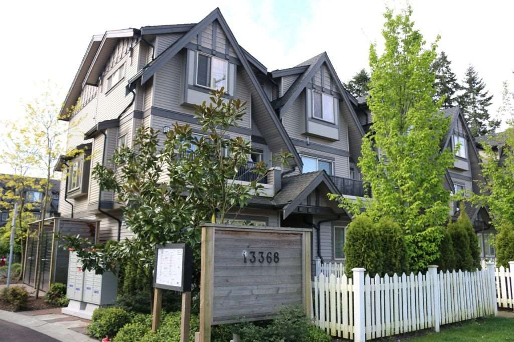 "Main Photo: 115 13368 72 Avenue in Surrey: West Newton Townhouse for sale in ""CRAFTON HILL"" : MLS® # R2071517"