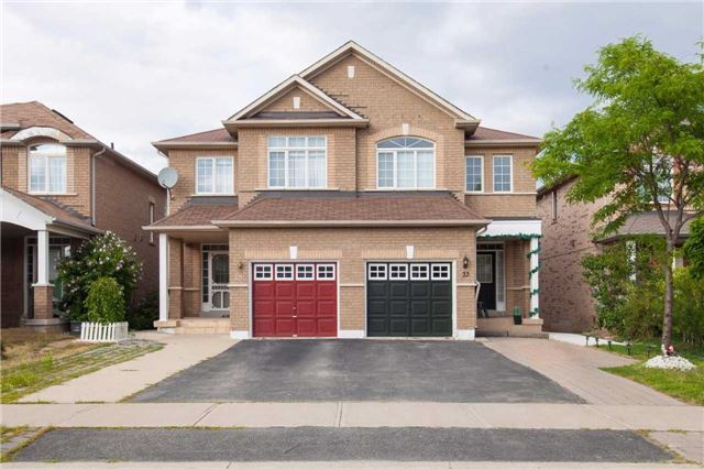 Main Photo: 33 Woodhaven Drive in Brampton: Fletcher's Meadow House (2-Storey) for sale : MLS(r) # W3566597