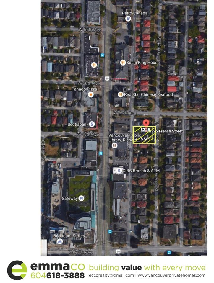 Photo 2: 8341 FRENCH Street in Vancouver: Marpole House for sale (Vancouver West)  : MLS® # R2104683