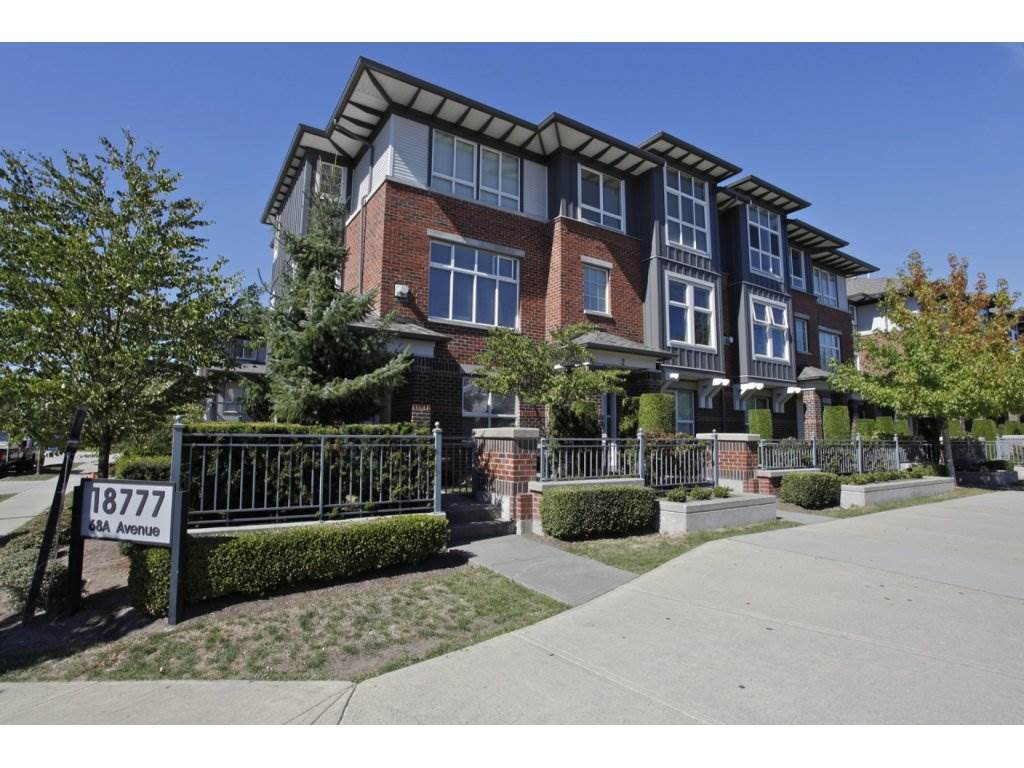 "Main Photo: 55 18777 68A Avenue in Surrey: Clayton Townhouse for sale in ""Compass"" (Cloverdale)  : MLS® # R2118322"