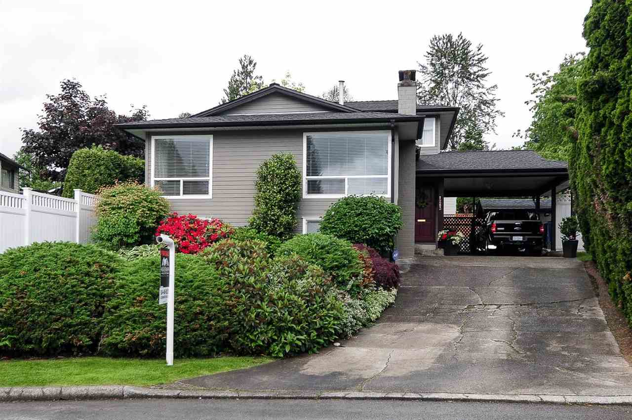 "Main Photo: 1283 PLYMOUTH Crescent in Port Coquitlam: Oxford Heights House for sale in ""Oxford Heights"" : MLS®# R2173500"