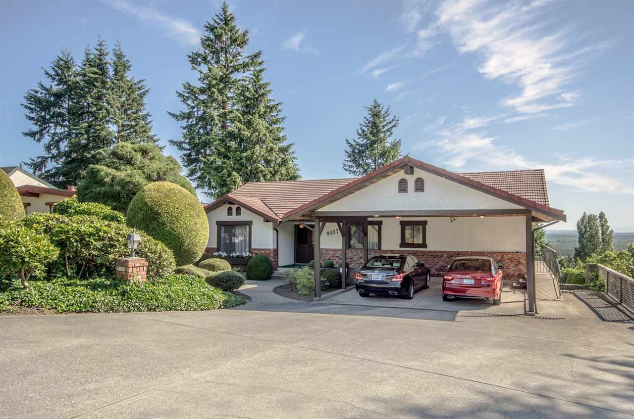 "Main Photo: 8057 WILTSHIRE Boulevard in Delta: Nordel House for sale in ""Canterbury Heights"" (N. Delta)  : MLS® # R2182420"