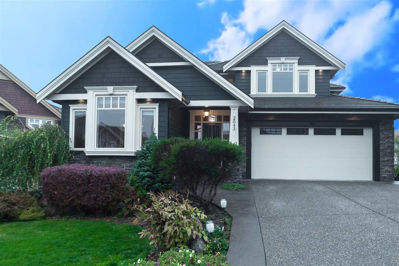"Main Photo: 2643 LARKSPUR Court in Abbotsford: Abbotsford East House for sale in ""Eagle Mountain"" : MLS® # R2217487"