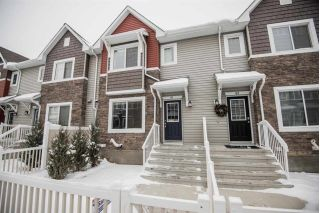 Main Photo: 61 655 TAMARACK Road in Edmonton: Zone 30 Townhouse for sale : MLS® # E4087953