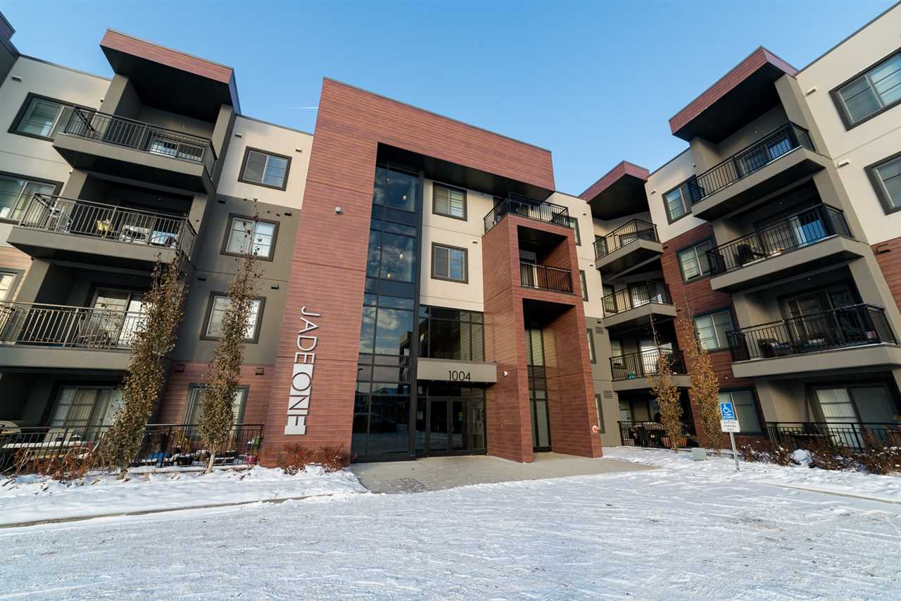 Main Photo: 201 1004 Rosenthal Boulevard in Edmonton: Zone 58 Condo for sale : MLS® # E4089644