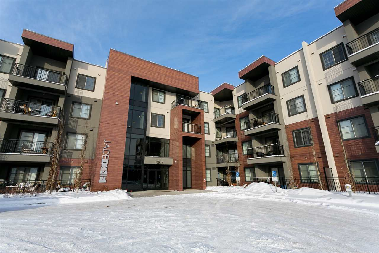 Main Photo: 210 1004 ROSENTHAL Boulevard in Edmonton: Zone 58 Condo for sale : MLS®# E4095934