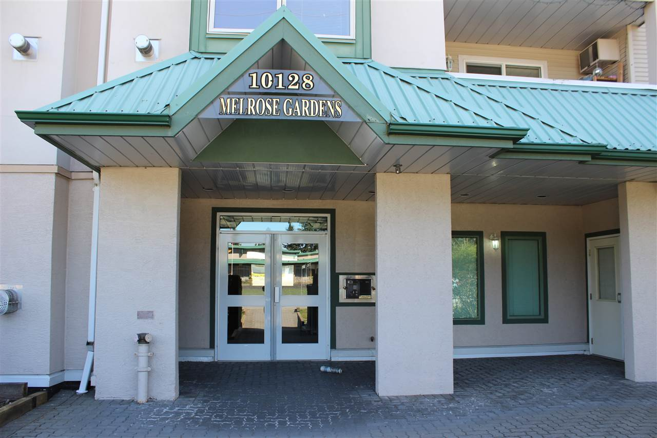 "Main Photo: 111 10128 132ND Street in Surrey: Whalley Condo for sale in ""Melrose Gardens"" (North Surrey)  : MLS®# R2260334"