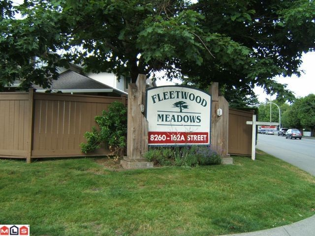 "Main Photo: 706 8260 162A Street in Surrey: Fleetwood Tynehead Townhouse for sale in ""Fleetwood Meadows"" : MLS® # F1118352"
