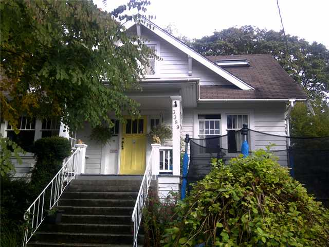 Main Photo: 3389 W 42ND Avenue in Vancouver: Southlands House for sale (Vancouver West)  : MLS® # V912302