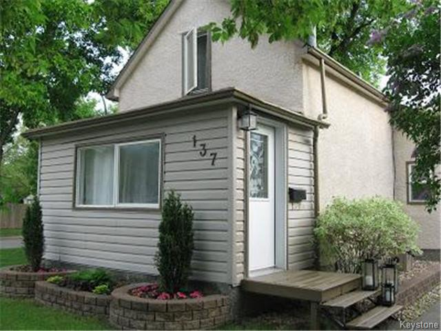 Main Photo: 137 McMeans Avenue West in WINNIPEG: Transcona Residential for sale (North East Winnipeg)  : MLS® # 1413678