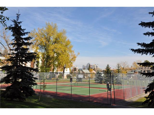 Tennis Courts in Bankview