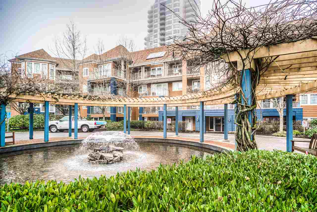 "Main Photo: 407 3075 PRIMROSE Lane in Coquitlam: North Coquitlam Condo for sale in ""LAKESIDE TERRACE"" : MLS®# R2017407"
