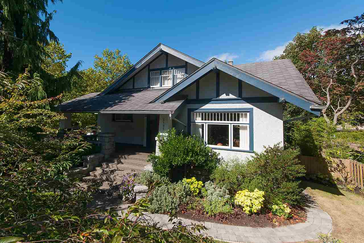 Main Photo: 2195 W 37TH Avenue in Vancouver: Quilchena House for sale (Vancouver West)  : MLS® # R2107146