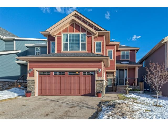 Main Photo: 22 ROCKFORD Road NW in Calgary: Rocky Ridge House for sale : MLS® # C4115282