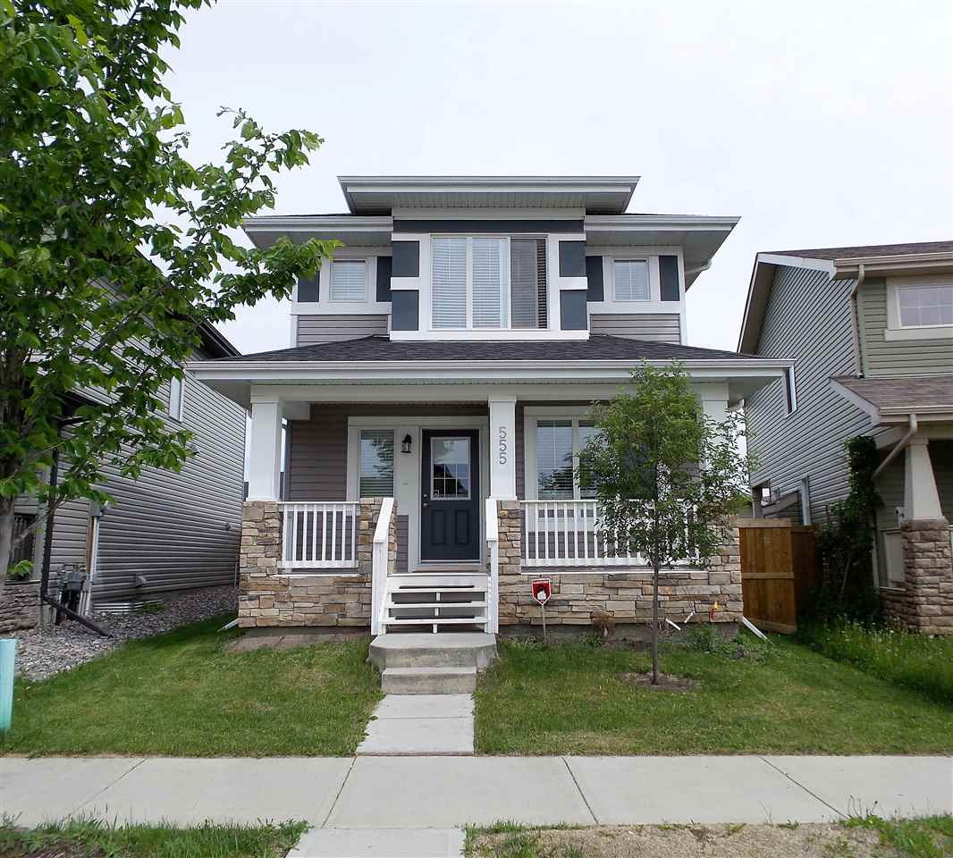 Main Photo: 555 ALLARD Boulevard in Edmonton: Zone 55 House for sale : MLS(r) # E4067848