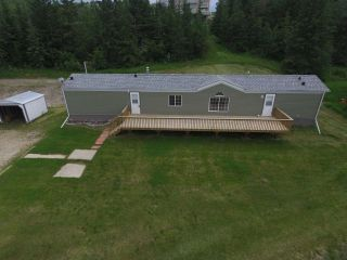 Main Photo: 462082A Hwy 822: Rural Wetaskiwin County Manufactured Home for sale : MLS® # E4068989
