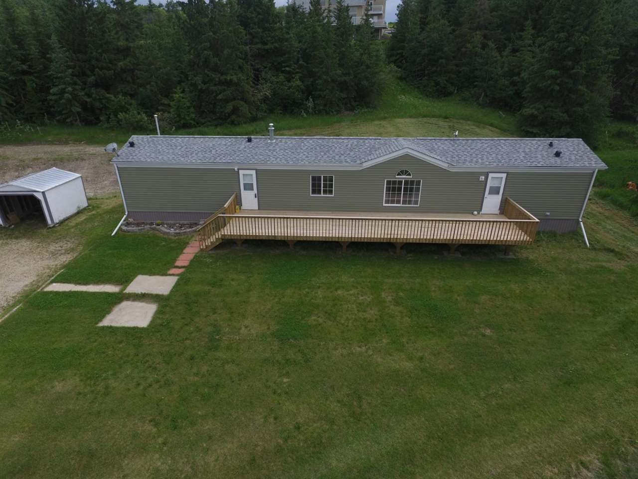 Main Photo: 462082A Hwy 822: Rural Wetaskiwin County Manufactured Home for sale : MLS(r) # E4068989