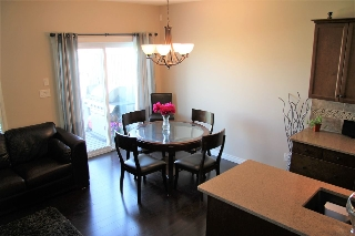 Great room with convenience of the nook from the living room and kitchen.  Walk out to the large deck