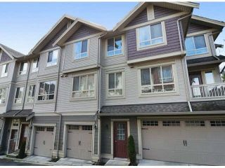 "Main Photo: 36 19560 68 Avenue in Surrey: Clayton Townhouse for sale in ""SOLANA"" (Cloverdale)  : MLS® # R2228928"