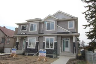 Main Photo: 11528 101 Street in Edmonton: Zone 08 House Half Duplex for sale : MLS®# E4097019