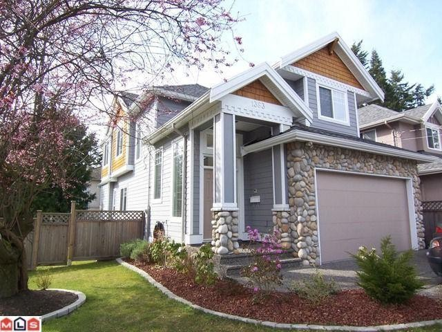 Main Photo: 1383 129A Street in Surrey: Crescent Bch Ocean Pk. House for sale (South Surrey White Rock)  : MLS® # F1105146